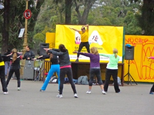 zumba in the park!
