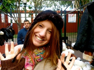 fitting in (not) with my Argentine gorro