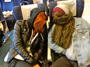 Zoe & Alex....passssssed out