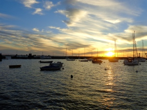 Uruguayan sunset