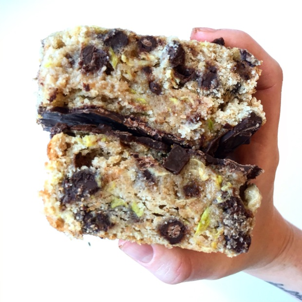 dairy-free chocolate zucchini bread loaf